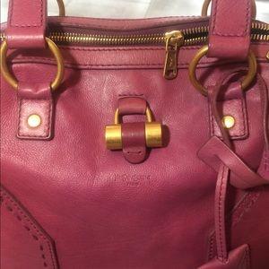 YSL, large Muse handbag.